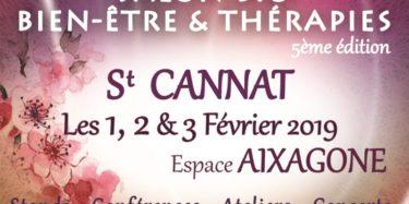 Affiche Saon Bien-Etre et Thérapies St Cannat 2019