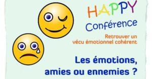 Conférence Emotions, amies ou ennemies